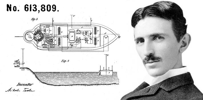 Nikola Tesla Fernsteuerung